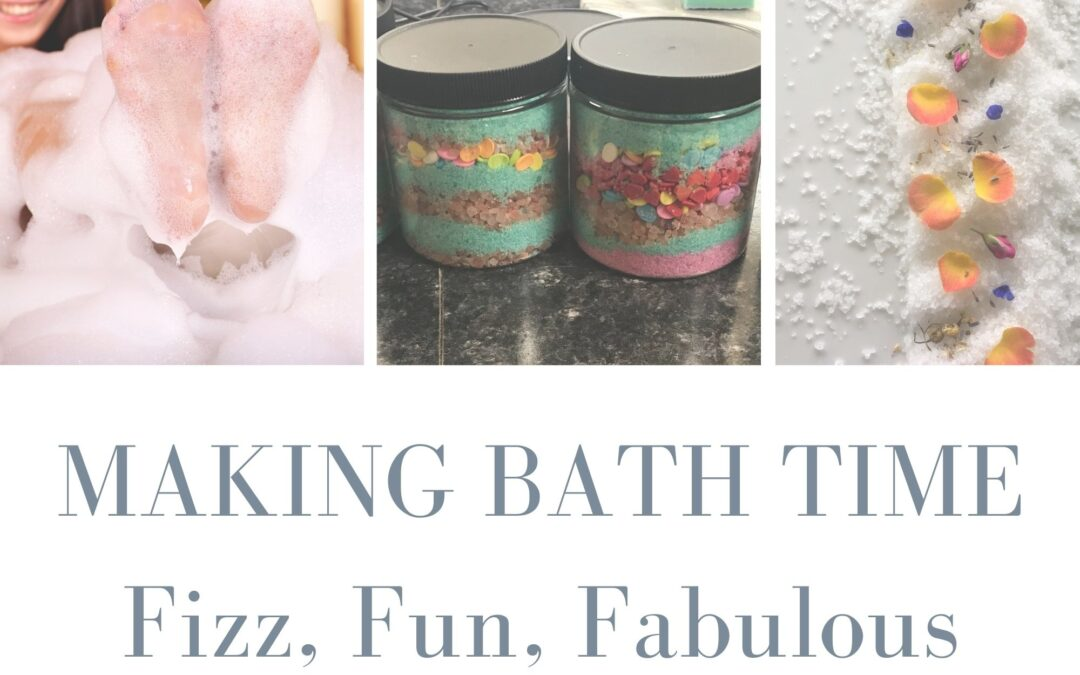 Making Bath Time Fizz, Fun, Fabulous with Carolina Shores Natural Soap